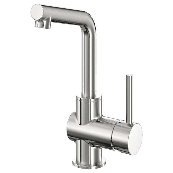 LUNDSKÄR wash-basin mixer tap with strainer stainless steel colour 25 cm