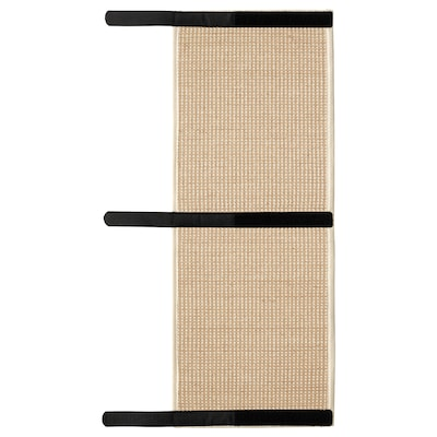LURVIG Scratching mat, natural, 25x63 cm