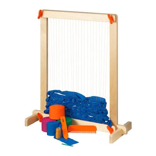 Lustigt 7 Piece Weaving Loom Set Ikea