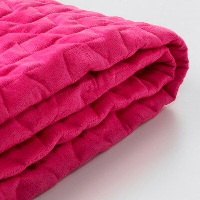 LYCKSELE cover for 2-seat sofa-bed Vallarum cerise