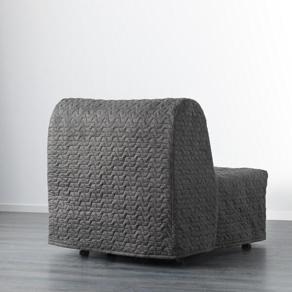 LYCKSELE LÖVÅS chair-bed Vallarum grey 80 cm 100 cm 87 cm 60 cm 39 cm 80 cm 188 cm 188 cm 80 cm 10 cm