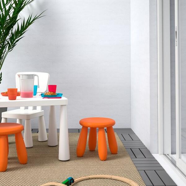 MAMMUT Children's stool, in/outdoor/orange