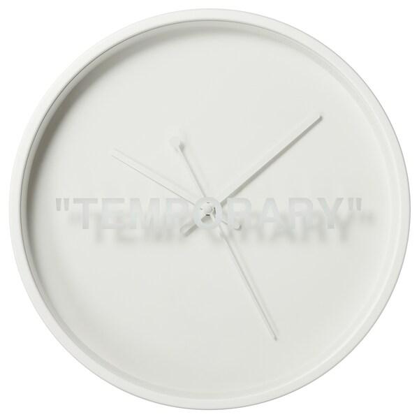 MARKERAD wall clock white 6 cm 42 cm
