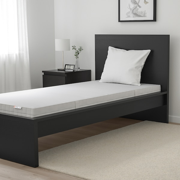 MATRAND Memory foam mattress, firm/white, 90x200 cm