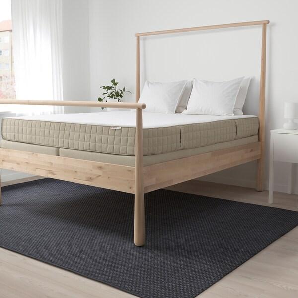 MAUSUND Natural latex mattress, medium firm natural, 160x200 cm