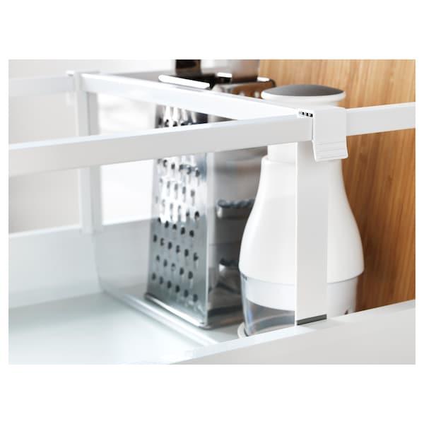 MAXIMERA divider for high drawer white/transparent 35.6 cm 40 cm 19.4 cm 2.4 cm