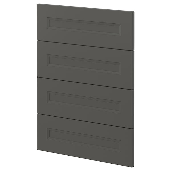 METOD 4 fronts for dishwasher, Axstad dark grey, 60 cm