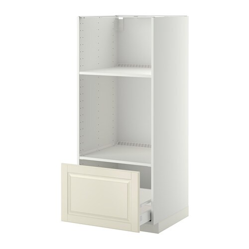 Metod High Cab For Ovenmicro W Drawer White Bodbyn Off White