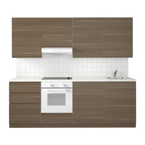 Metod Kitchen White Maximera Voxtorp Walnut