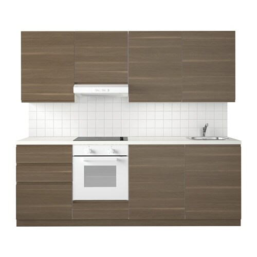 metod kitchen voxtorp walnut effect ikea. Black Bedroom Furniture Sets. Home Design Ideas