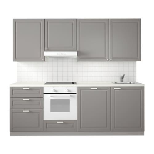 Metod Kitchen White Maximera Bodbyn Grey