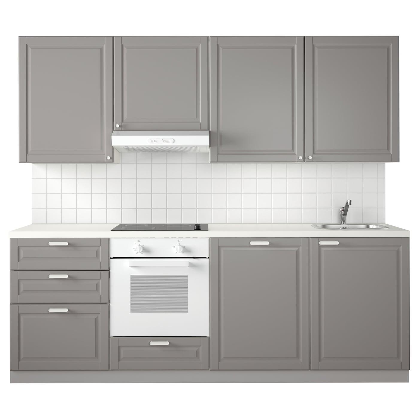 Metod Kitchen White Maximera Veddinge Grey