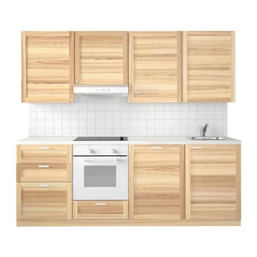 Metod Kitchen Torhamn Natural Ash Ikea