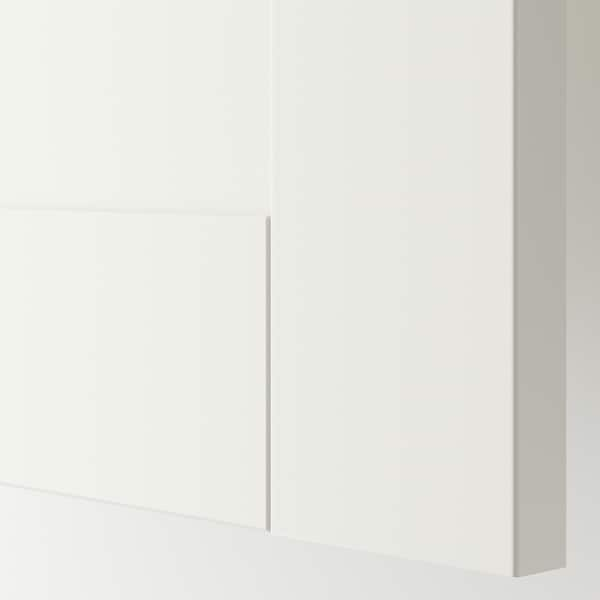 METOD / MAXIMERA Base cabinet with 2 drawers, white/Sävedal white, 40x37 cm