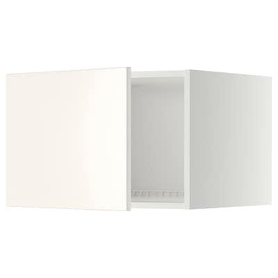 METOD Top cabinet for fridge/freezer, white/Veddinge white, 60x40 cm