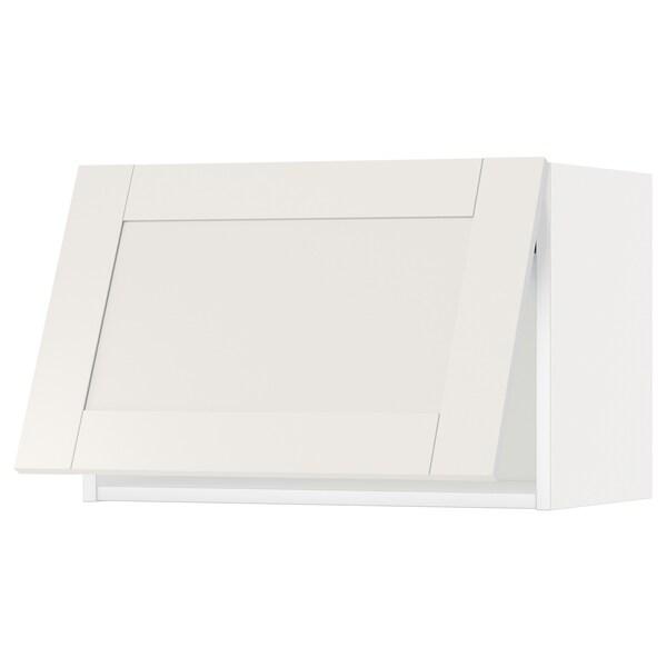 METOD Wall cabinet horizontal, white/Sävedal white, 60x40 cm