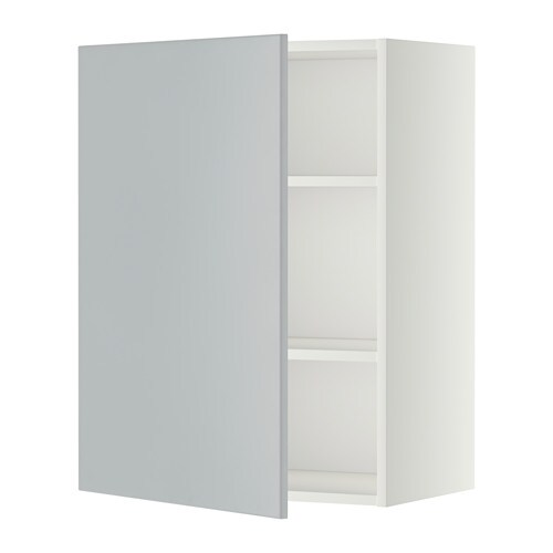Attirant METOD Wall Cabinet With Shelves