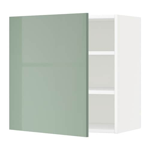 Metod Wall Cabinet With Shelves: METOD Wall Cabinet With Shelves