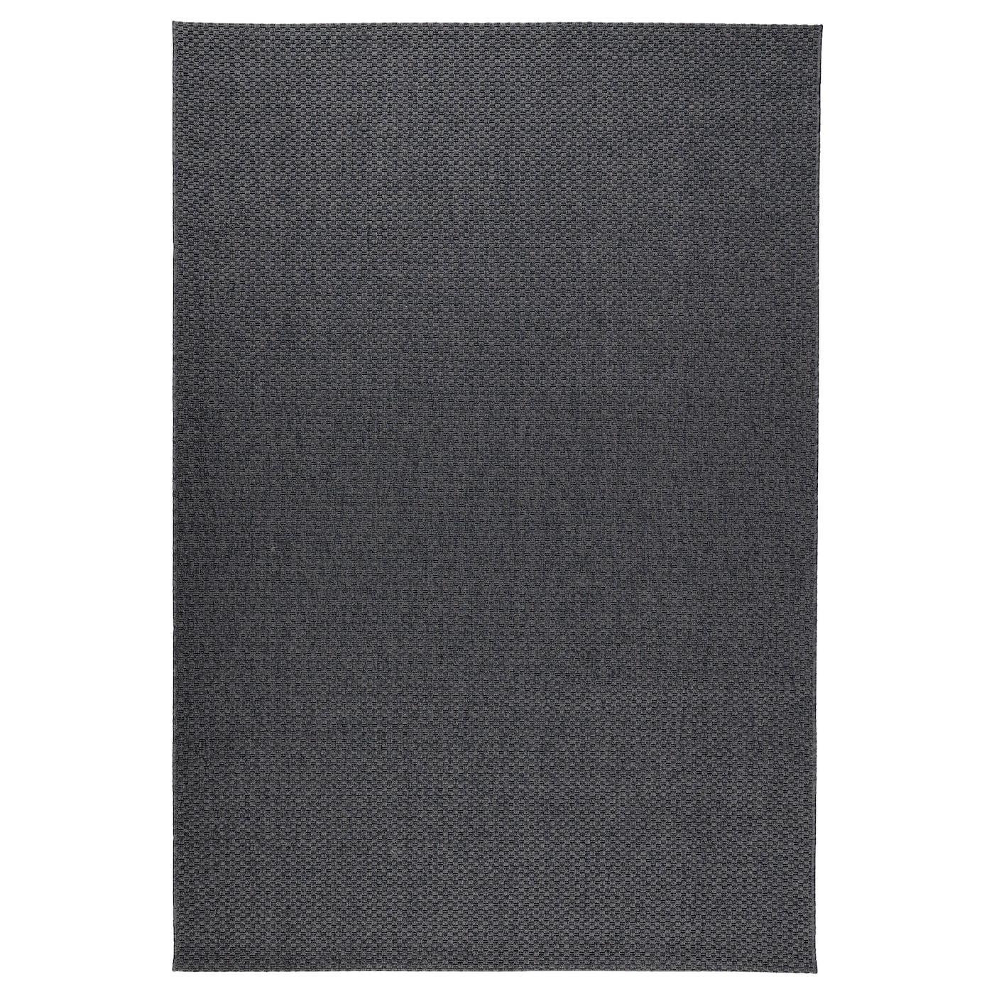 Morum Rug Flatwoven In Outdoor Dark Grey