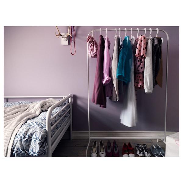 MULIG clothes rack white 99 cm 46 cm 151 cm 20 kg