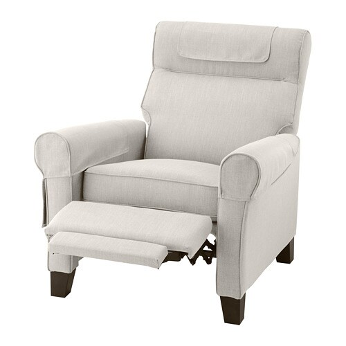 Poltrone Relax Ikea.Muren Recliner Nordvalla Beige