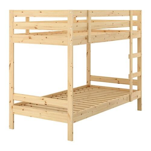 Letto A Castello Mydal Ikea.Mydal Bunk Bed Frame Pine