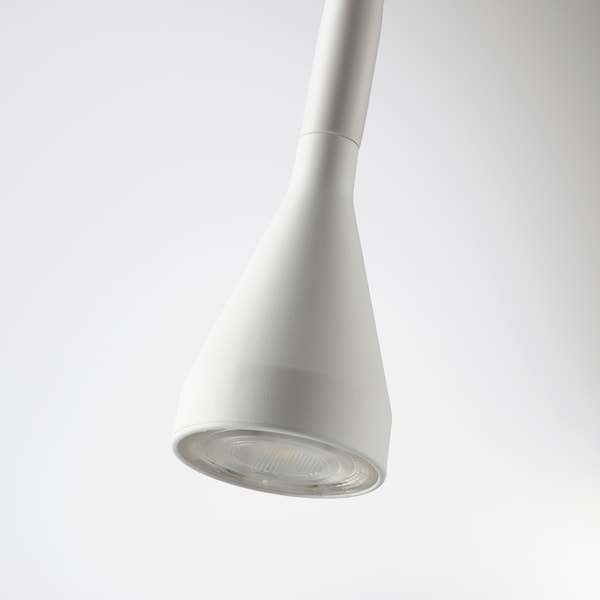 NÄVLINGE LED wall/clamp spotlight white 220 lm 63 cm 2.0 m 1.9 W 25000 hr