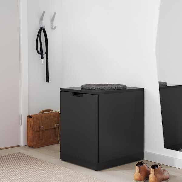 NORDLI Chest of drawers, anthracite, 40x54 cm