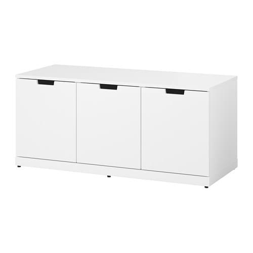Ikea Cassettiere Nordli.Nordli Chest Of 3 Drawers White