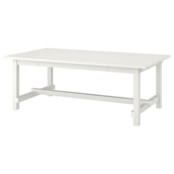 NORDVIKEN extendable table white 210 cm 289 cm 105 cm 75 cm