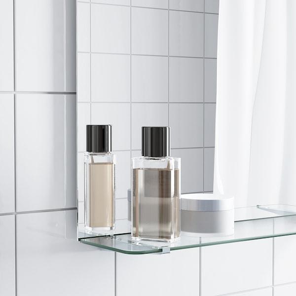 NYSJÖN / BJÖRKÅN Bathroom furniture, set of 5, white/Pilkån tap, 54x40x98 cm