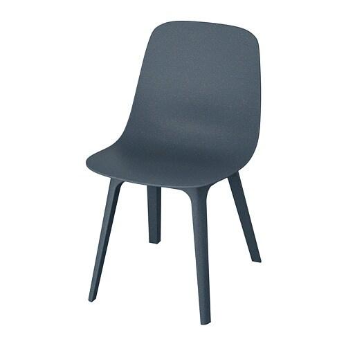Ikea Eetkamerstoel Stefan.Odger Chair Blue