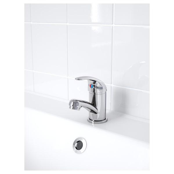 OLSKÄR wash-basin mixer tap chrome-plated 12 cm