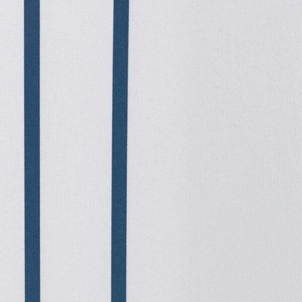OTTSJÖN shower curtain white/blue 60 g/m² 200 cm 180 cm 3.60 m² 60 g/m²