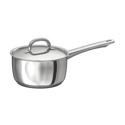 OUMBÄRLIG Saucepan with lid, 2 l
