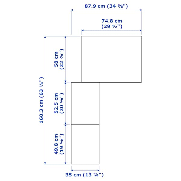 PAX Corner wardrobe, white/Flisberget light beige, 160/88x236 cm