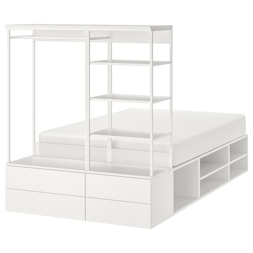 IKEA PLATSA Bed frame with 4 drawers