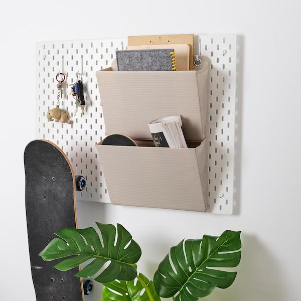 PLUGGHÄST Hanging folder, beige