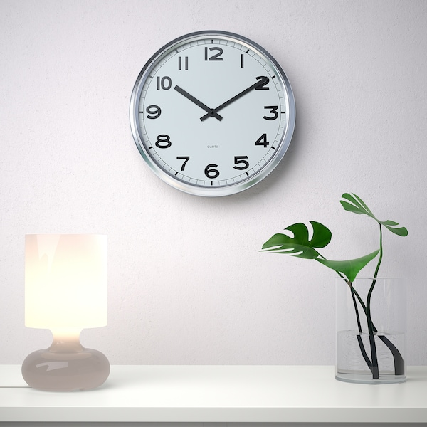 PUGG wall clock stainless steel 5 cm 32 cm