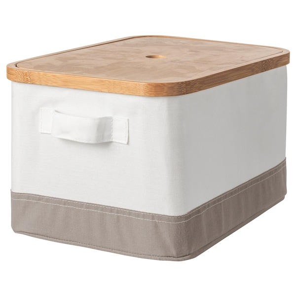 RABBLA Box with lid, 25x35x20 cm