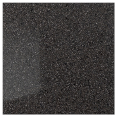 RÅHULT Custom made wall panel, anthracite mineral effect/quartz, 1 m²x1.2 cm