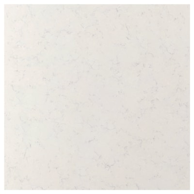 RÅHULT Custom made wall panel, white marble effect/quartz, 1 m²x1.2 cm