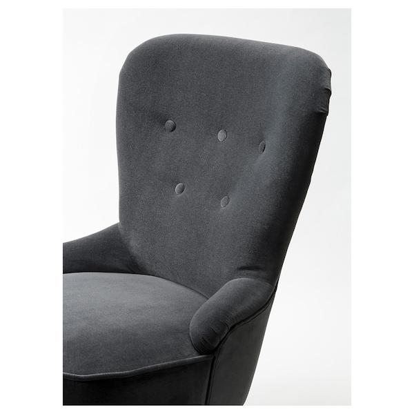 REMSTA armchair Djuparp dark grey 60 cm 72 cm 88 cm 58 cm 47 cm 45 cm
