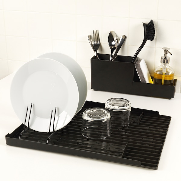 RINNIG Dish drainer, double-sided, 40x31 cm