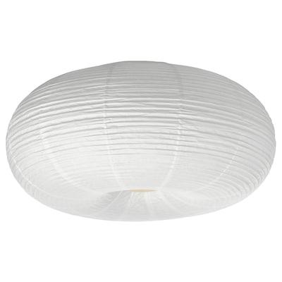 RISBYN LED ceiling lamp, white, 50 cm