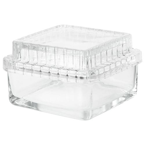 IKEA SAMMANHANG Glass box with lid