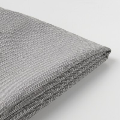 SANDBACKEN cover for 3-seat sofa Frillestad light grey