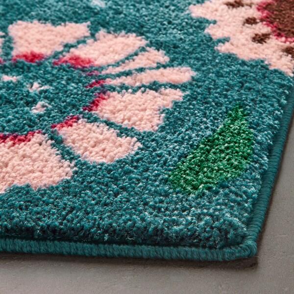 SANDTRÄSKET bath mat multicolour 80 cm 50 cm 0.40 m²