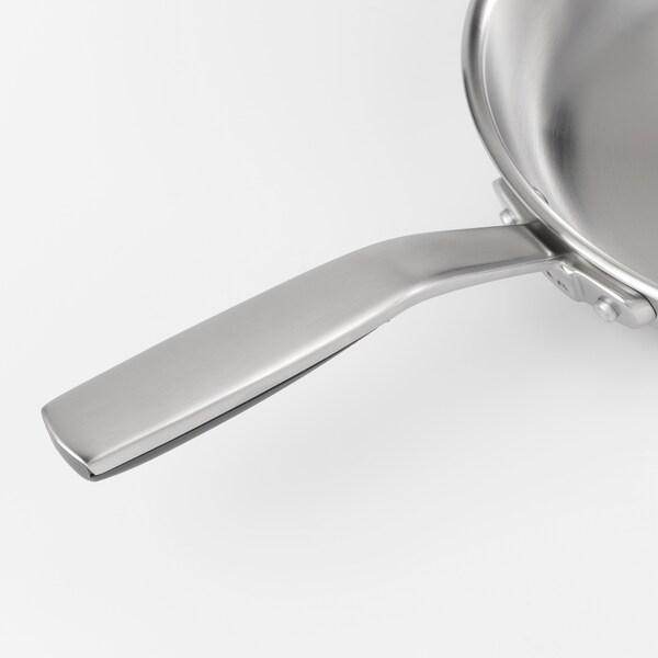 SENSUELL Frying pan, stainless steel/grey, 28 cm
