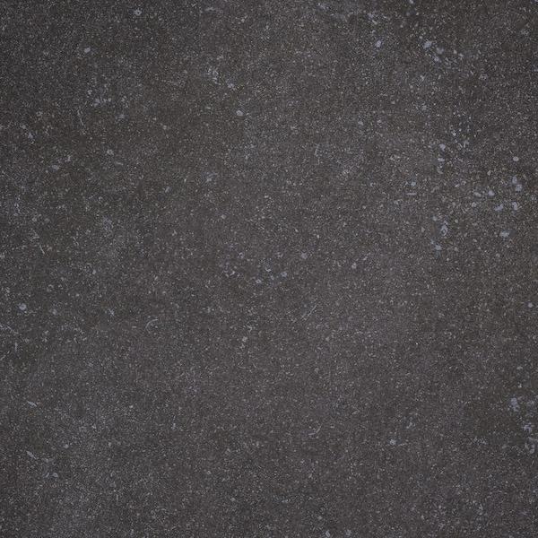 SKARARP Custom made worktop, matt dark grey/marble effect ceramic, 1 m²x2.0 cm
